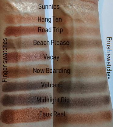 9b swatches